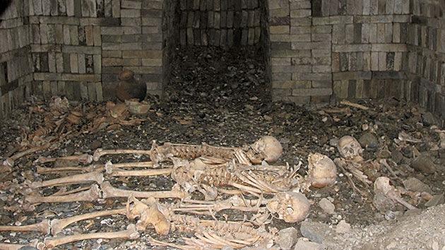 Criaturas míticas 'indican' quién yace en un antiguo cementerio recién descubierto en China