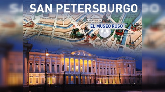 El Museo Ruso pretende figurar en todos los mapas