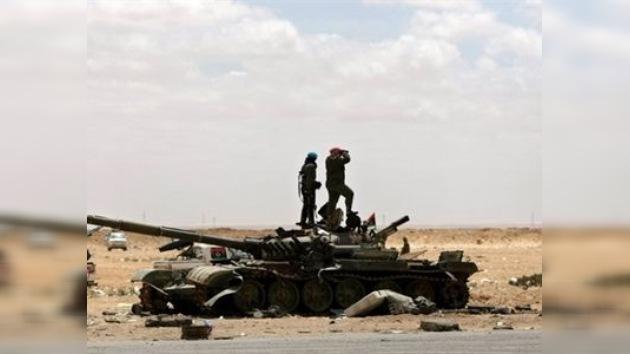 La OTAN informa de sus últimos bombardeos en Libia