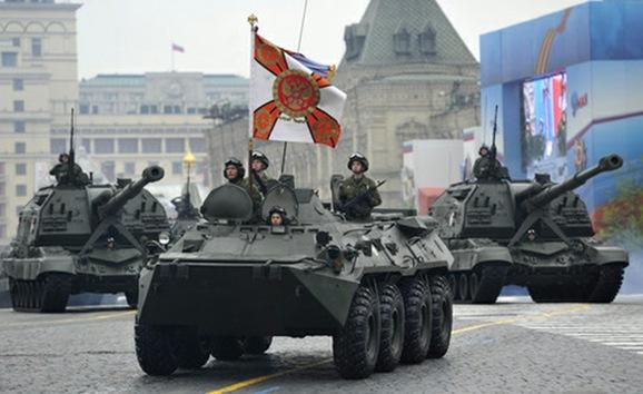 Desfile militar del 9 de mayo de 2012