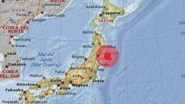 Un sismo de magnitud 6,1 sacude la costa este de Japón