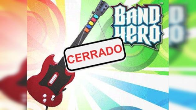 ¡Adiós a 'Guitar Hero'!