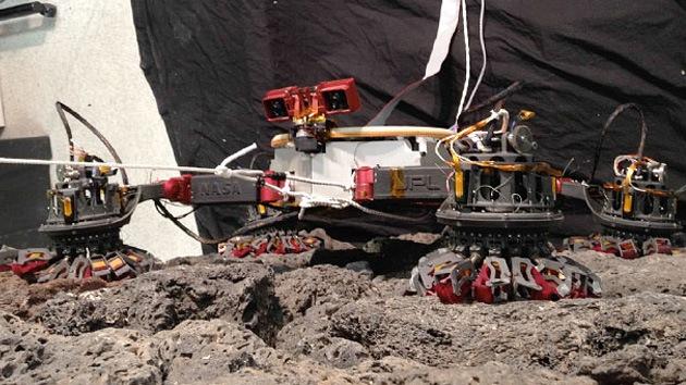 Video: El primer robot escalador de la NASA, diseñado para 'parasitar' asteroides