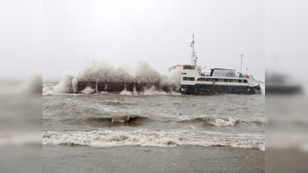 Un buque de carga turco naufraga cerca de la ciudad rusa de Sochi