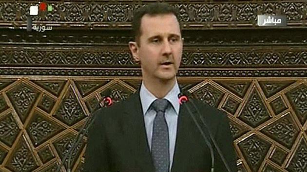 """Al Assad: """"Siria está a las puertas de una guerra impuesta desde fuera"""""""