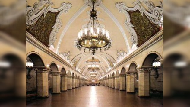 El Metro de Moscú es el primero del mundo por densidad de pasajeros