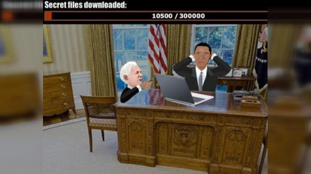 Aparece un nuevo juego virtual sobre WikiLeaks en Internet