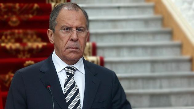 Lavrov: Lo que pasó en Odesa es puro fascismo