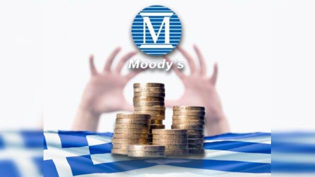 Moody's  rebaja la deuda griega hasta 'bonos basura'