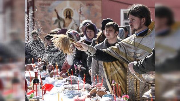 Rusia сelebra la Santa Pascua