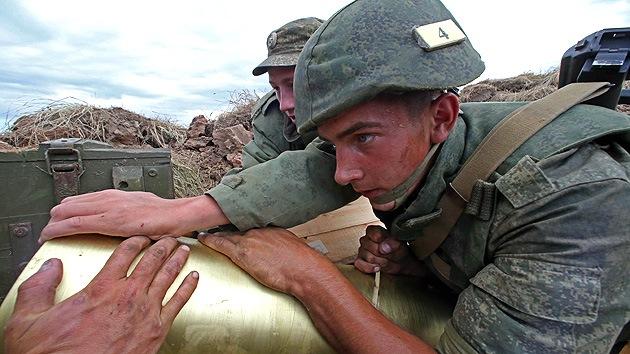 Kiev: Las tropas rusas no violaron la frontera con Ucrania durante las maniobras militares