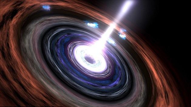 Detectan rayos gamma de un agujero negro que pueden romper las leyes de la física