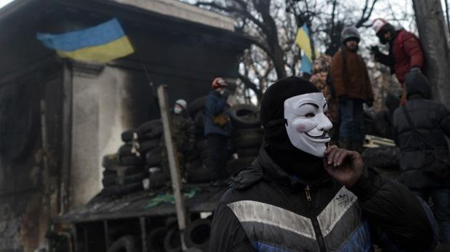 Anonymous 'hackea' la base de datos del Ministerio del Interior de Ucrania