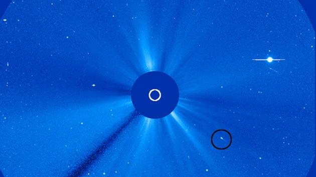 Video: Un pequeño cometa 'suicida' se estrella contra el Sol