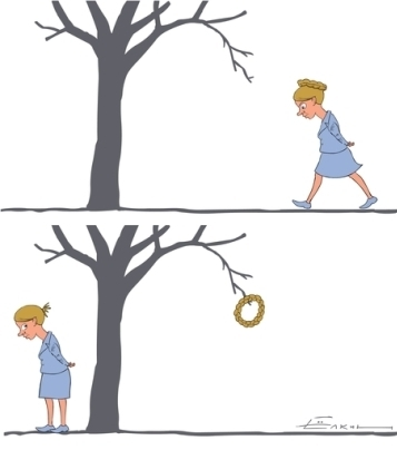 Dibujo por Serguéi Yolkin