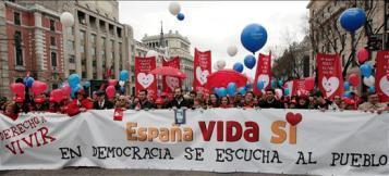 Manifestación en Madrid por EFE/ Juanjo Martín