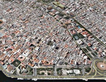 La Habana Vieja modelada por Google