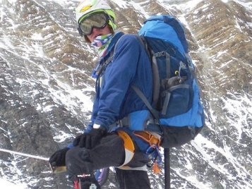 J. Romero en el Everest por Team Jordan