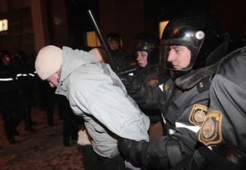 Un detenimiento en Minsk