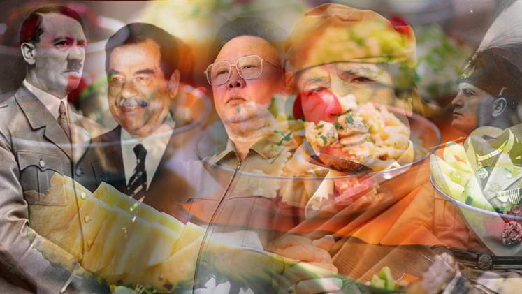 Sémola y leche de camello: gustos de los políticos más polémicos, de Hitler a Gaddafi