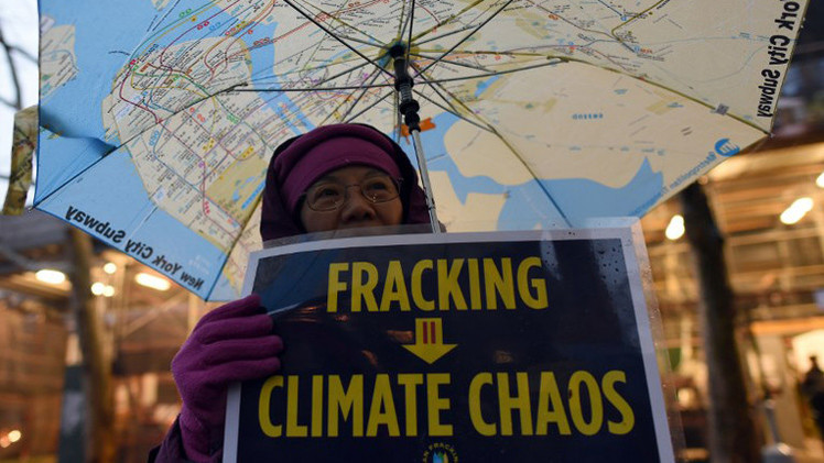 """""""El 'fracking' es un arma del capitalismo para crear esta guerra de precios de crudo"""""""