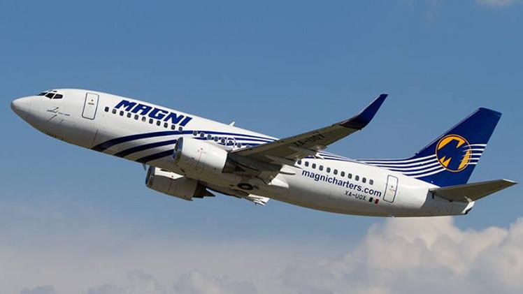 Despiden a un piloto en México por dejar los mandos de un avión de pasajeros a una actriz