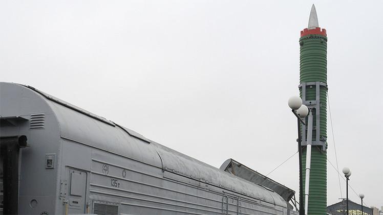 Rusia hace 'resucitar' temibles misiles estratégicos en trenes