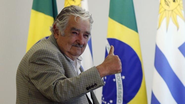 """José Mujica: """"No quiero que Clarín o Globo sean dueños de la prensa en Uruguay"""""""