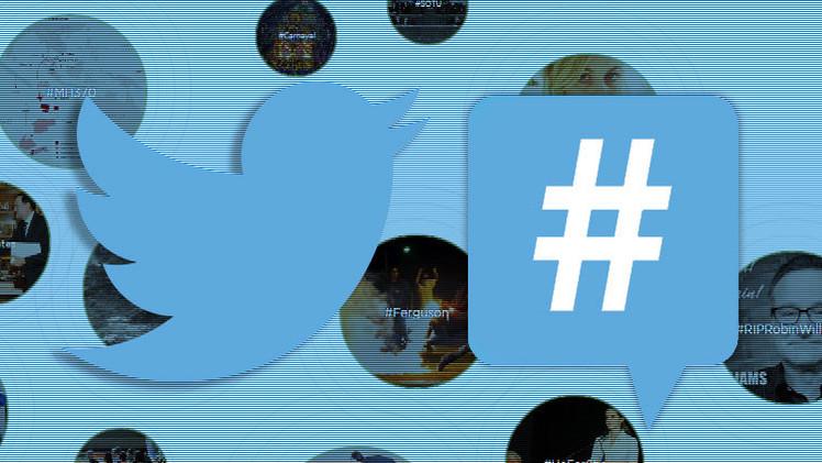Los 'hashtags' más importantes del mundo en 2014