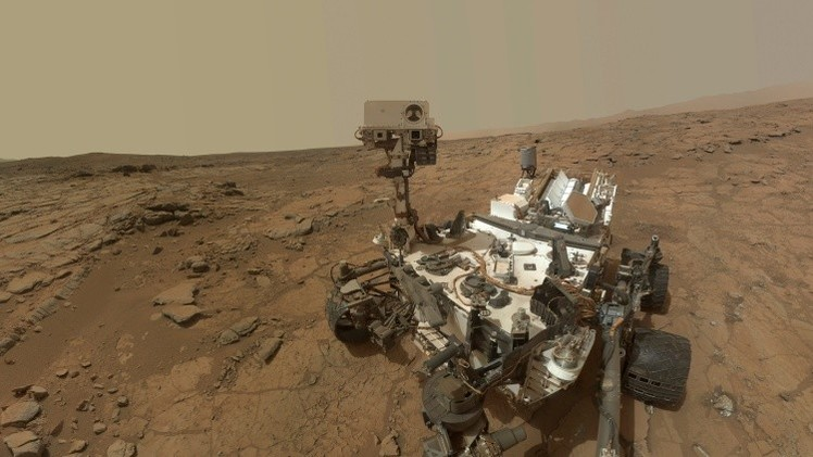 El Curiosity descubre en Marte metano que pueden haber generado organismos vivos