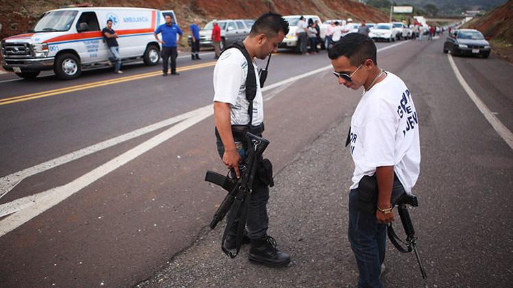 México: Once muertos en enfrentamiento entre autodefensas en Michoacán