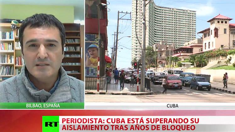 """""""Cuba está superando su aislamiento tras años del bloqueo"""""""