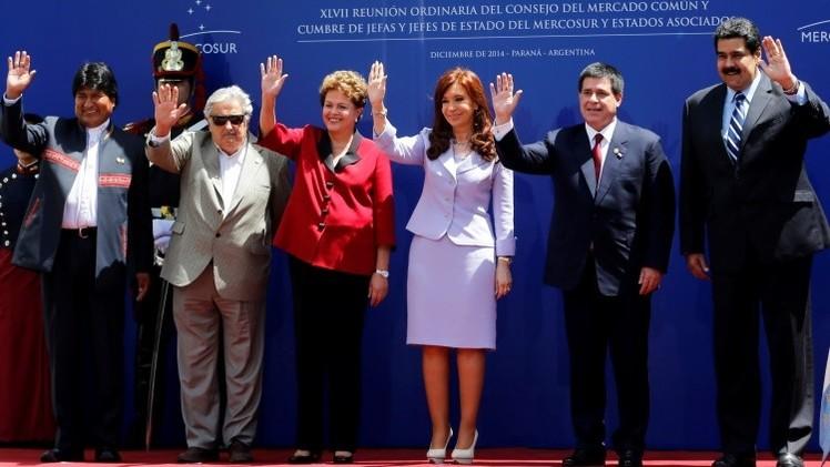 Los presidentes de Mercosur emiten un comunicado en rechazo a las sanciones de EE.UU.