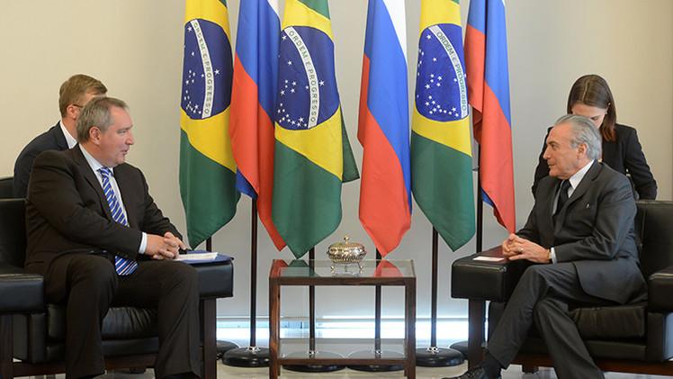 Rusia y Brasil preparan un 'megaproyecto' de cooperación en la industria espacial y militar