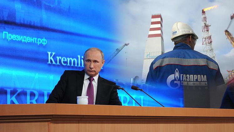 Putin: Es inevitable que la economía rusa supere esta situación en 2 años a más tardar