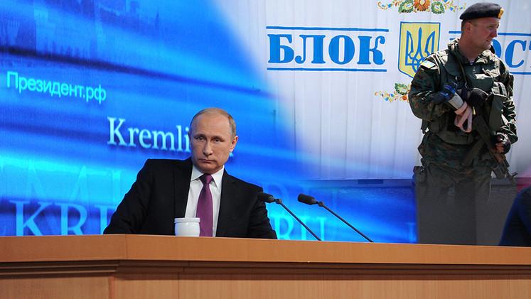 Putin: La operación de castigo en el este de Ucrania la lleva a cabo Kiev