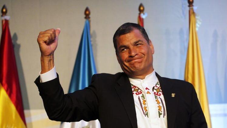 Video: Rafael Correa carga contra los estereotipos occidentales sobre América Latina