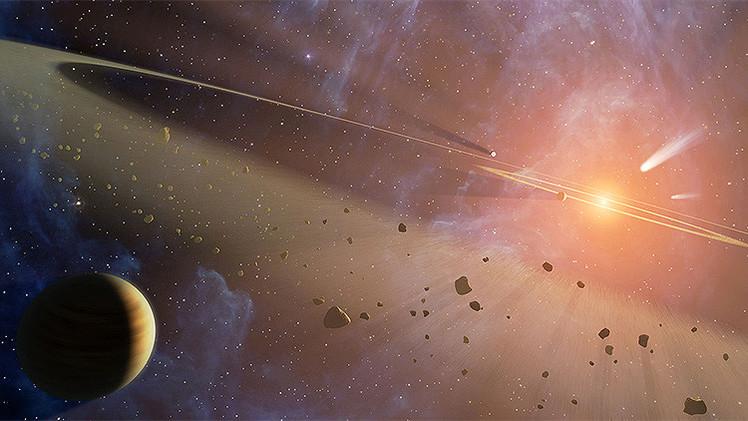 Una lluvia de cometas podría destruir la Tierra