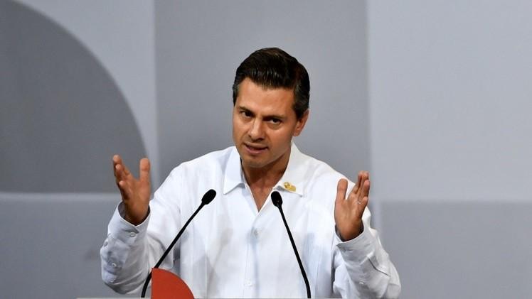Una mujer es expulsada de una reunión con Peña Nieto tras sugerirle que pida perdón