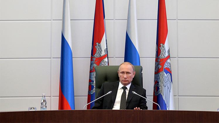 Putin: La doctrina militar rusa es defensiva pese al aumento de la actividad de la OTAN