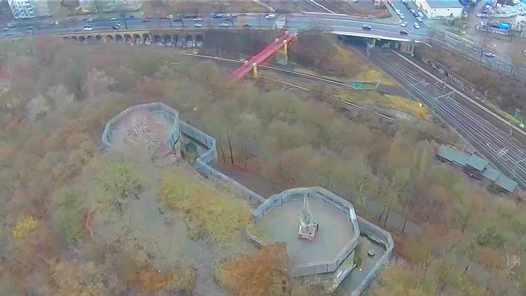 Video: Dron capta imágenes únicas de una torre defensiva de Hitler