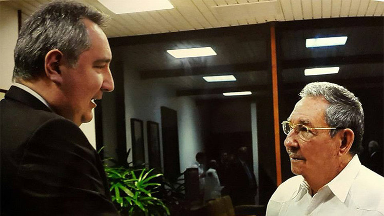 Rogozin: Cuba no renunciará a los principios a cambio de las promesas de Washington