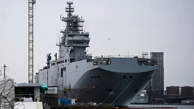Rusia espera la decisión de Francia sobre los Mistral hasta fin de año
