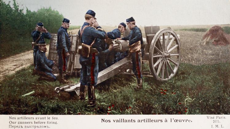 La I Guerra Mundial a todo color: Recuperan insólitos carteles de propaganda bélica