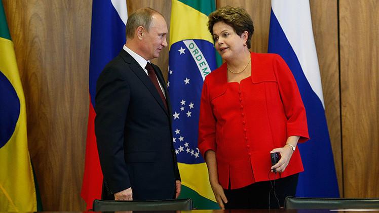 Putin y Rousseff, personajes del año para la prensa de América Latina