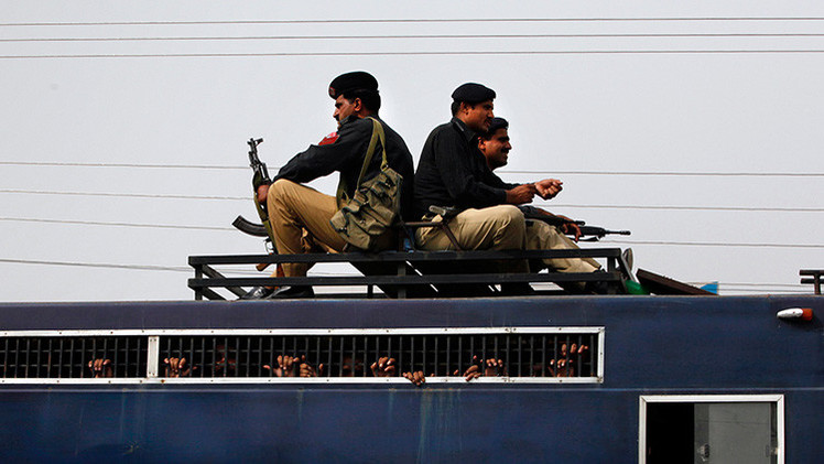 Pakistán ejecuta a un ciudadano ruso, acusado de atentar contra el expresidente