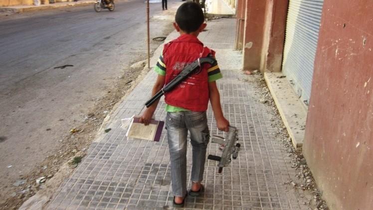 Foto: Imagen de un niño de 4 años con un arma de juguete provoca polémica en Twitter