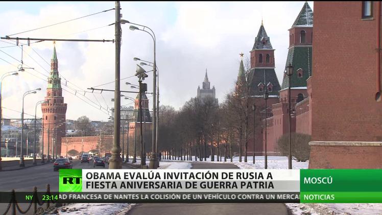 """Obama """"no ha rechazado"""" la invitación de Rusia para el 70º aniversario de la Gran Victoria"""