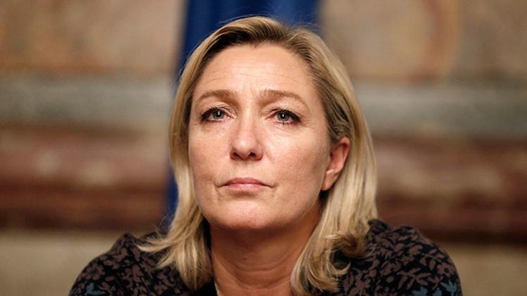 """Marine Le Pen: """"Es el momento de librar una guerra contra los fundamentalistas en Francia"""""""