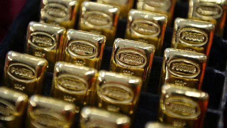 Las reservas de oro de Rusia llegan a su máximo en 20 años